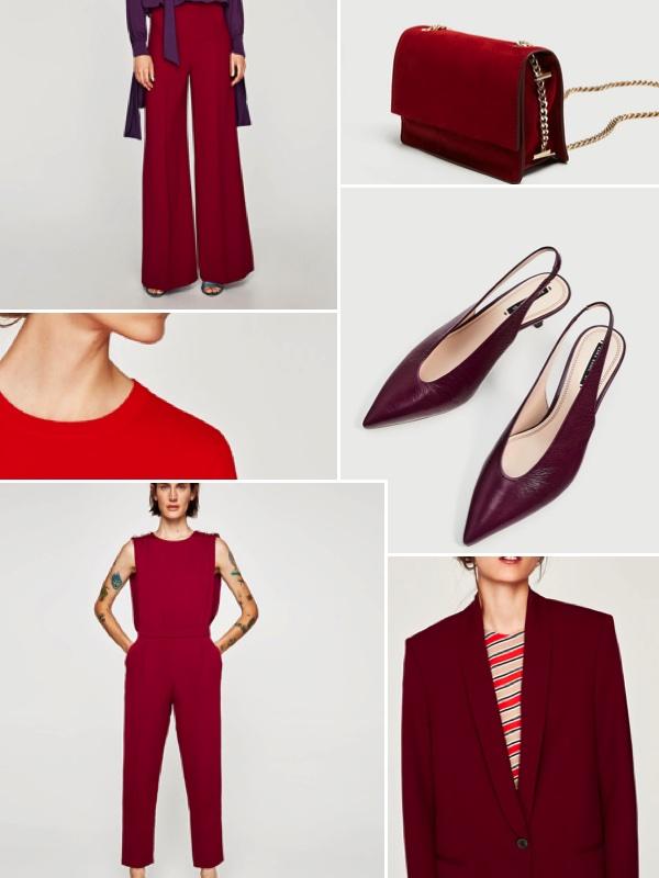 AW17 Zara Red